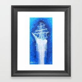 """""""Sea Spirit"""" Framed Art Print"""