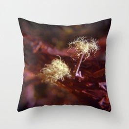 Sea Ranch fungi Throw Pillow