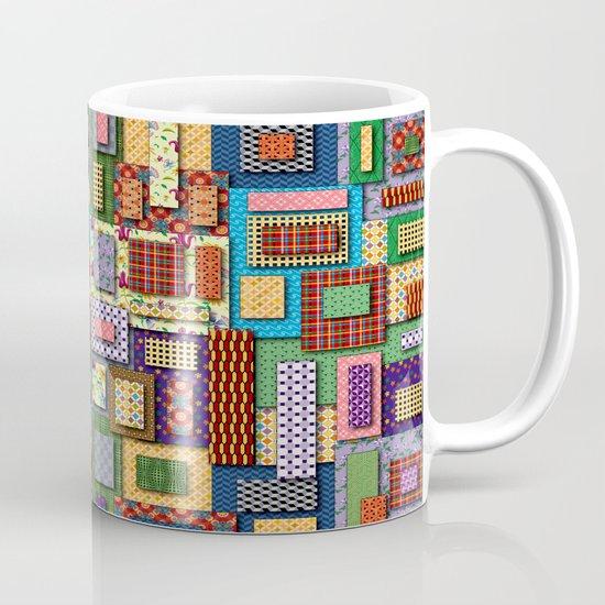 Patchwork Coffee Mug