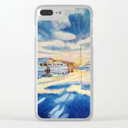 Annapolis. Clear iPhone Case