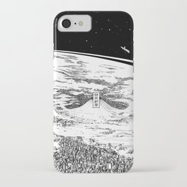 Space upon us iPhone Case