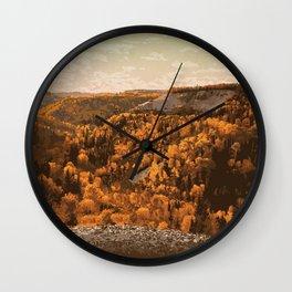 Riding Mountain National Park Wall Clock