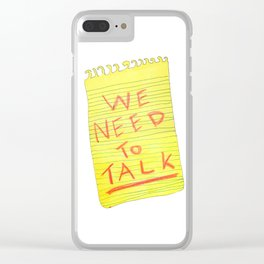 We Need to Talk Clear iPhone Case