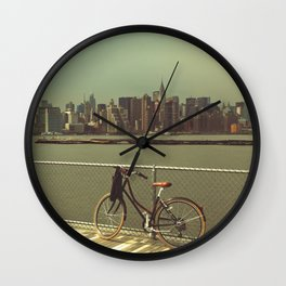 A Green Point Of View Wall Clock