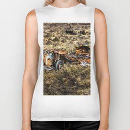 All there is left. Biker Tank