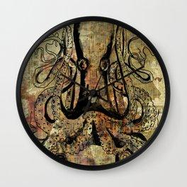 Ocean Spider Wall Clock
