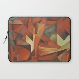 Foxes - Homage to Franz Marc (1913) Laptop Sleeve
