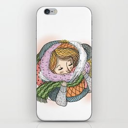 Bundled Up iPhone Skin