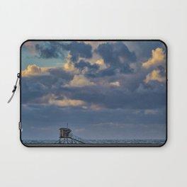 Big Sky Over Huntington Beach Laptop Sleeve