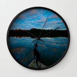 Lake Seven Wall Clock