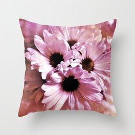 Love Those Daisies Throw Pillow