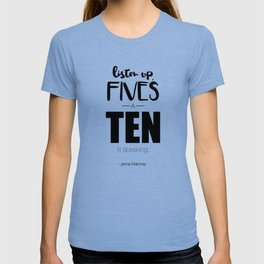 Jenna Maroney - 30 Rock - Typography T-shirt