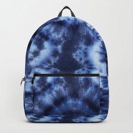 Topanga Tie-Dye Blue Backpack