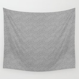 Combo light grey abstract pattern . Wall Tapestry