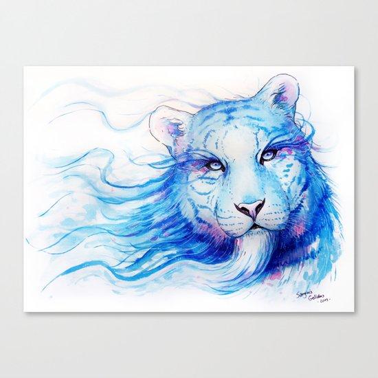 """Spirits of the Seasons - Winter"" Canvas Print"