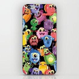 cute monsters iPhone Skin