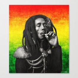 marley bob general portrait painting | Up In Smoke Fan Art Canvas Print