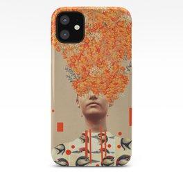 Bird Flight in Autumn iPhone Case