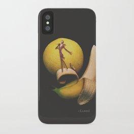 Jack Bananaton iPhone Case
