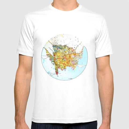 Upside-down Town. T-shirt