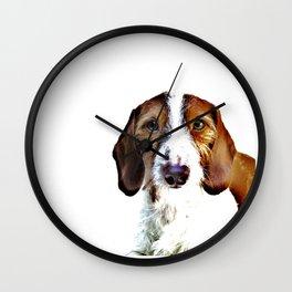 """""""Birch"""" ~ Dachshund, Weiner Dog, Doxie, everywhere!  Wall Clock"""
