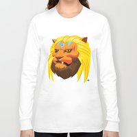 space cat Long Sleeve T-shirts featuring Space cat by Bleachydrew