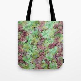 Seamless Pattern of Tropical Leaves II Tote Bag