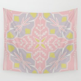 Tribal Square Wall Tapestry