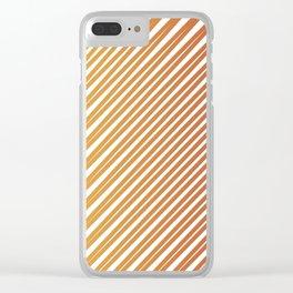 sun rays Clear iPhone Case