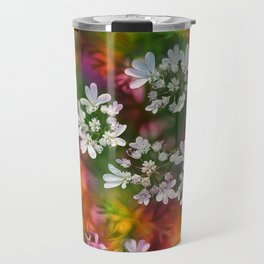 Floral Splash Travel Mug