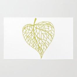 The Linden leaf Rug
