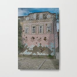fake house Metal Print