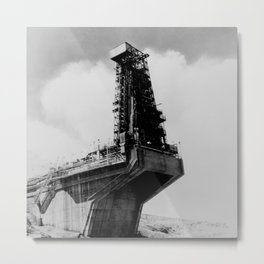 TEST STAND 1-A UTILIZED TO TEST THE ATLAS ICBM Metal Print