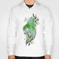 dragon Hoodies featuring Dragon by Sarah Maurer