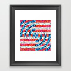 Abstract America Framed Art Print