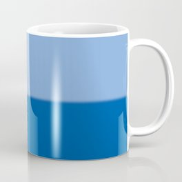 Abstract in two blues Coffee Mug