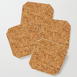 Golden linseed Coaster