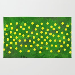 Flower Dandelion (rectangular) Rug