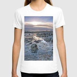 Sundown At The Lighthouse T-shirt