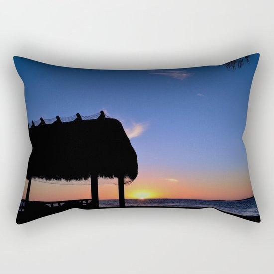 Florida Keys Sunset Rectangular Pillow