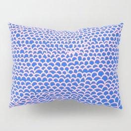 Noodle Doodle Blue Pillow Sham