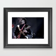 Jack White Airline Satan Framed Art Print