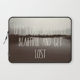 Someplace Laptop Sleeve
