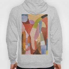"Paul Klee ""Movement of Vaulted Chambers 1915"" Hoody"