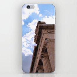 Sky above Parthenon iPhone Skin