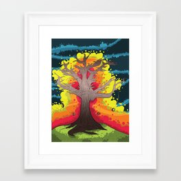 """Cosmic Abandon"" Framed Art Print"