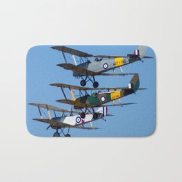 Tiger Moths Bath Mat