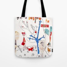 The Time To Be Happy Is Now Tote Bag