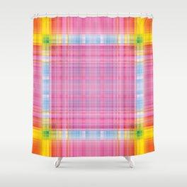Uneven Symmetry V1 Shower Curtain