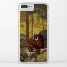 Shitmba Clear iPhone Case